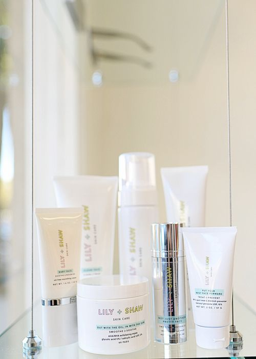 Acne Skincare Line - Lily and Shaw Skincare