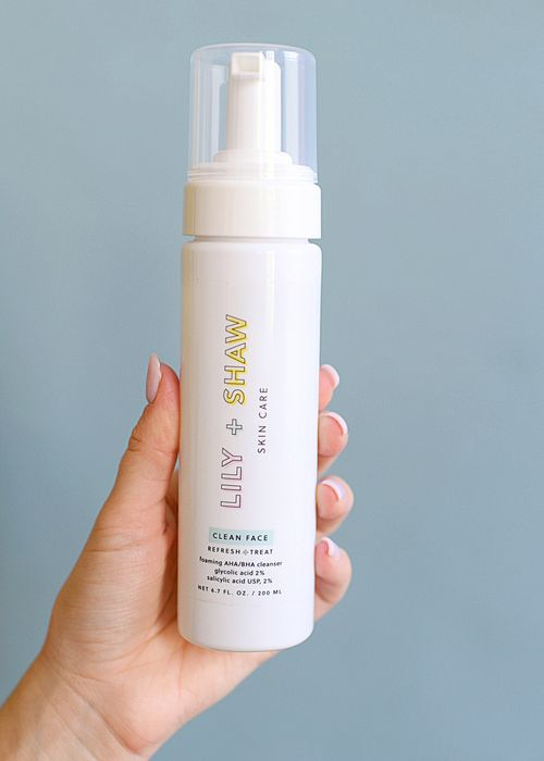 Clean Face - Lily and Shaw Skincare